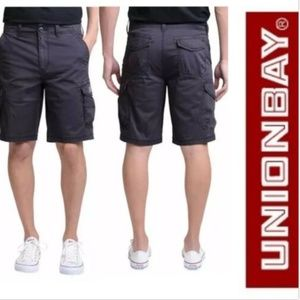 UNIONBAY Shorts - UB Unionbay MONTEGO Cargo Shorts Comfort Stretch